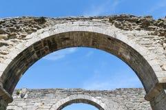 Roma kloster, mitt av Gotland, Romakloster, Sverige arkivbild