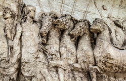 Roma löparbana royaltyfri bild