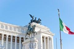Roma, l'altare della terra natia Immagini Stock
