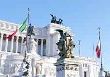 Roma, l'altare della terra natia Immagini Stock Libere da Diritti
