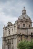 Roma, la basílica de San Pedro Imagen de archivo libre de regalías