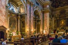 Roma, Lazio, Itália 25 de julho de 2017: Nave e ideia principais do sid imagens de stock