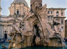 Roma, Lazio, Italia 25 luglio 2017: Fontana chiamata Fotografie Stock