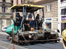 Roma - máquina de revestimento foto de stock royalty free
