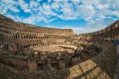 ROMA - 23 MARZO 2015: Interno del Colosseo di Colosseum anche Fotografia Stock Libera da Diritti
