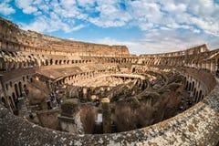 ROMA - 23 MARZO 2015: Interno del Colosseo di Colosseum anche Immagine Stock Libera da Diritti
