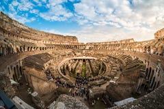 ROMA - 23 MARZO 2015: Interno del Colosseo di Colosseum anche Immagini Stock