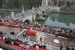 ROMA-MILLE MIGLIA RACE 2008 Royalty Free Stock Image