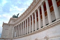 Roma, monumento di Vittoriano immagini stock