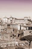 Roma nella seppia Fotografie Stock
