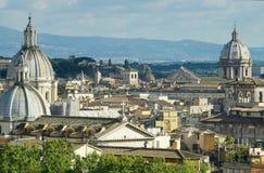 Roma no por do sol Foto de Stock Royalty Free