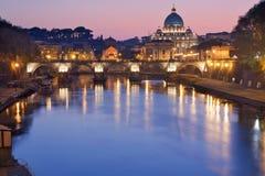 Roma no por do sol Foto de Stock