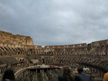 Nel colosseo stock image