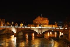 Roma - o mausoléu de Hadrian Foto de Stock Royalty Free