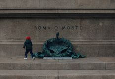 Roma o Morte стоковая фотография rf