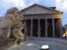 Roma o panteão foto de stock