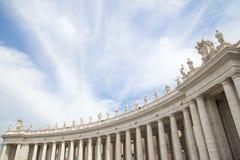 Roma, o quadrado de St Peter Imagem de Stock Royalty Free