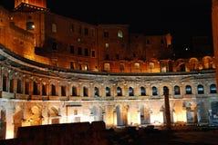 Roma - os fóruns imperiais Fotografia de Stock