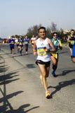 Roma-Ostia 41 halv maraton Fotografering för Bildbyråer