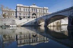 Roma - palacio de la justicia fotos de archivo