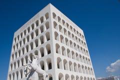 Roma - Palazzo della Civiltà Stock Photography