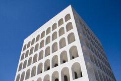 Roma - Palazzo della Civiltà Royalty Free Stock Photo