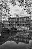 Roma Palazzo di Giustizia Monochrome pubblica Fotografia Stock Libera da Diritti