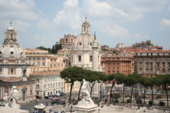 Roma-panorama Foto de Stock Royalty Free