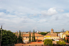 Roma panorama from Gianicolo hill Royalty Free Stock Photo