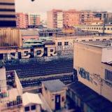 Roma-par l'intermédiaire de Casilina Photo stock