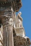 Roma - particolare dall'arco di trionfo di Constantine Fotografia Stock Libera da Diritti