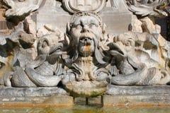 Roma - particolare dalla fontana Fotografie Stock Libere da Diritti