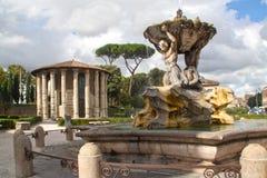 Roma-Piazza della bocca della verità Royalty Free Stock Photos