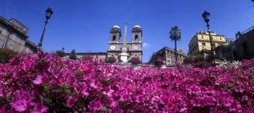 Roma, Piazza di Spagna Fotografía de archivo libre de regalías