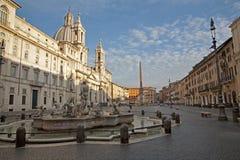 Roma - piazza Navona Immagini Stock Libere da Diritti