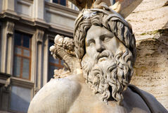 Roma - Piazza Navona Arkivbild