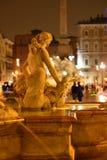 Roma, piazza Navona immagini stock
