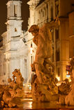 Roma, piazza Navona fotografie stock