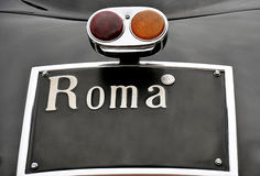 Roma plate Stock Photos