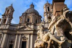 Roma (plaza Navona) Fotos de archivo