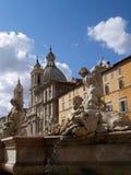 Roma - plaza Navona Fotos de archivo libres de regalías