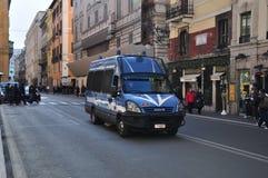 Roma, Polizia Fotografia Stock