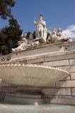 Roma Praça del Popolo Fotografia de Stock
