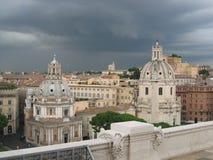 Roma prima della tempesta fotografie stock libere da diritti