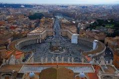 Roma - quadrado de Peter de Saint Imagem de Stock