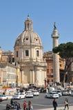 Roma que visita puntos de interés Imágenes de archivo libres de regalías