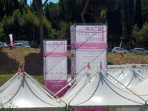 Roma - raça para a cura Imagem de Stock Royalty Free