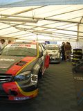 Roma racing tent Royalty Free Stock Images