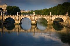 Roma's bridge Stock Photography