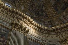 Roma, Sant' Andrea della Valle Immagine Stock Libera da Diritti